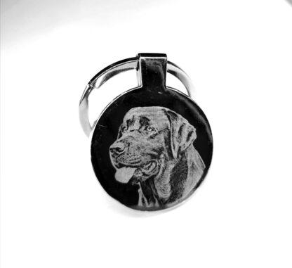 engraved keyring