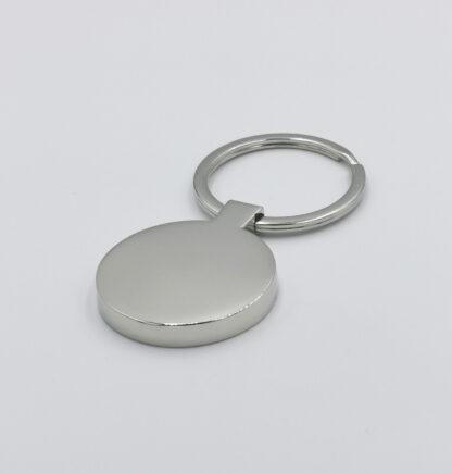 Circle shaped keyring